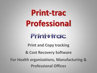 Print-trac Professional