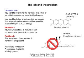 The job and the problem