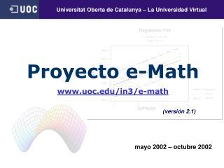 mayo 2002 – octubre 2002