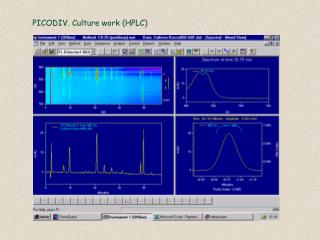 PICODIV. Culture work (HPLC)