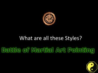 Different point styles