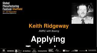 Keith Ridgeway
