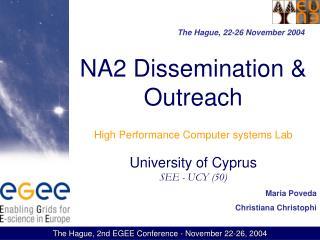 The Hague, 22-26 November 2004
