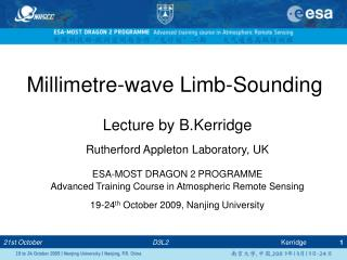 Millimetre-wave Limb-Sounding
