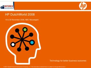 HP DutchWorld 2008