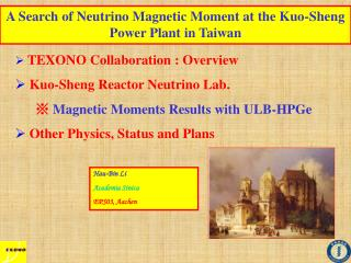 A Search of Neutrino Magnetic Moment at the Kuo-Sheng Power Plant in Taiwan