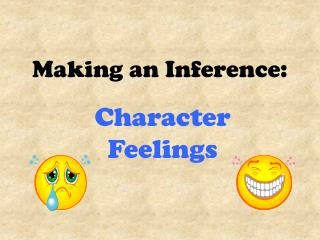 Making an Inference: