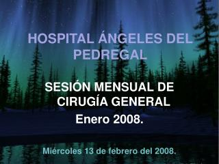 HOSPITAL ÁNGELES DEL PEDREGAL