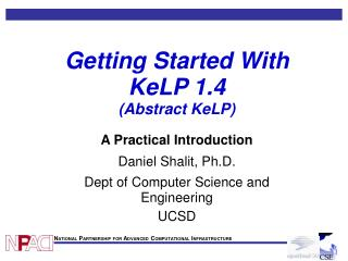 Getting Started With KeLP 1.4 (Abstract KeLP)