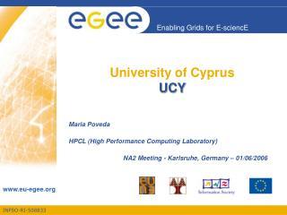 University of Cyprus UCY