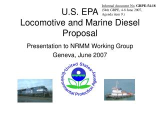 U.S. EPA Locomotive and Marine Diesel Proposal