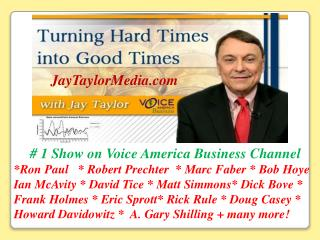 # 1 Show on Voice America Business Channel