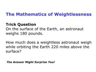 Trick QuestionOn the surface of the Earth