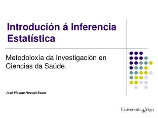 Introdución á Inferencia Estatística