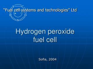 Hydrogen peroxide fuel cell