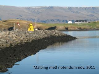 Málþing með notendum nóv. 2011