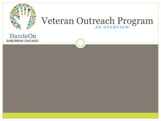 Veteran Outreach Program