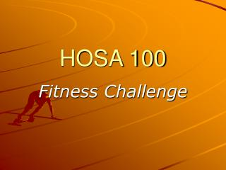 HOSA 100