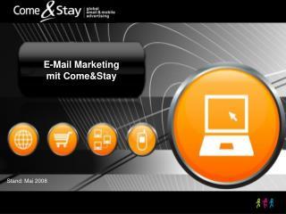 E-Mail Marketing mit Come&Stay