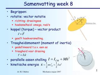 Samenvatting week 8