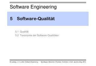 5Software-Qualität