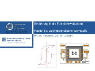 Einführung in die Funktionswerkstoffe Kapitel 5b: weichmagnetische Werkstoffe