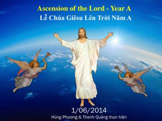 Ascension of the Lord - Year A