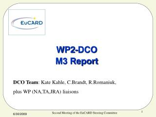 WP2-DCO M3 Report