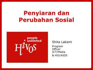 Penyiaran dan Perubahan Sosial