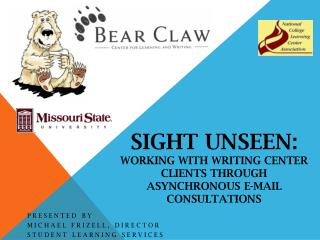 Sight Unseen: Working with Writing Center Clients through Asynchronous E-Mail Consultations