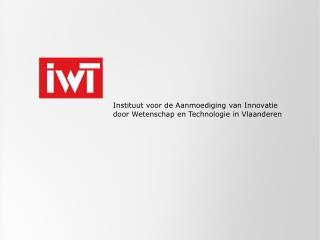 Instituut voor de Aanmoediging van Innovatie door Wetenschap en Technologie in Vlaanderen