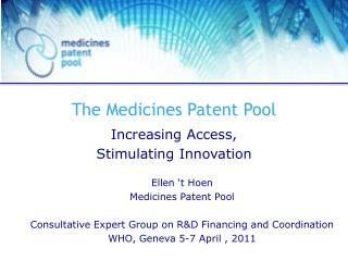 The Medicines Patent Pool