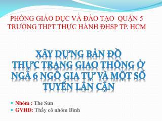 PHÒNG GIÁO DỤC VÀ ĐÀO TẠO  QUẬN 5 TRƯỜNG THPT THỰC HÀNH ĐHSP TP. HCM