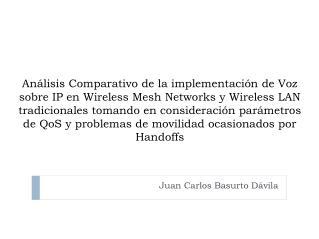 Juan Carlos Basurto Dávila