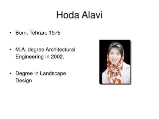 Hoda Alavi