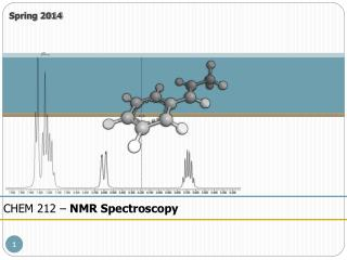 CHEM 212 –  NMR Spectroscopy
