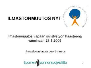 ILMASTONMUUTOS NYT