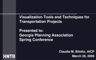 Claudia M. Bilotto, AICP March 26, 2009