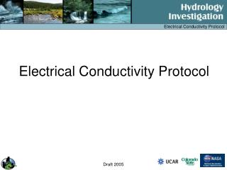 Electrical Conductivity Protocol