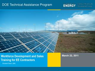 DOE Technical Assistance Program