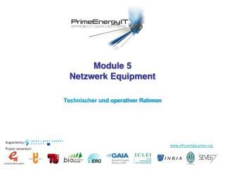 Module 5 Netzwerk Equipment