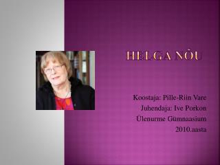 Helga Nõu