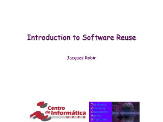 Introduction to Software Reuse