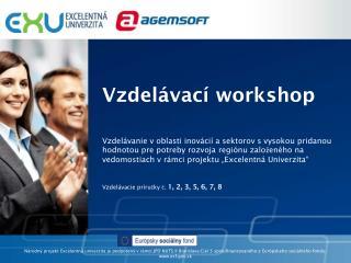 Vzdelávací workshop