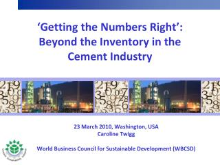 Getting the Numbers Right : Beyond the Inventory in the Cement Industry