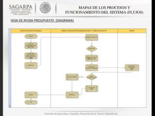 MAPAS DE LOS PROCESOS Y FUNCIONAMIENTO DEL SISTEMA (FLUJOS)