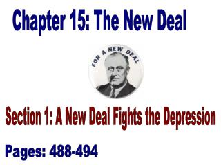 Chapter 15: The New Deal
