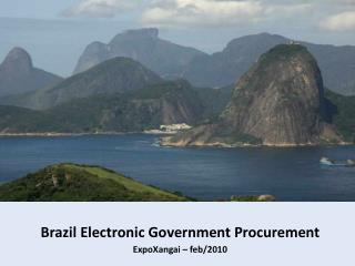 Brazil Electronic Government Procurement  ExpoXangai – feb/2010