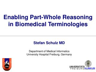 Enabling Part-Whole Reasoning in Biomedical Terminologies