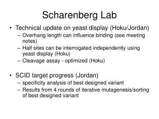 Scharenberg Lab